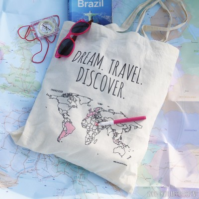 Cotton bag 'Colour your world'