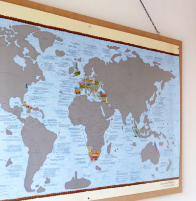 Bucket list world map posters