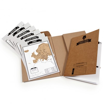 Travel & Scratch travel journal