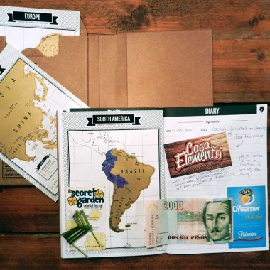 DIY with the Travel & Scratch travel journal