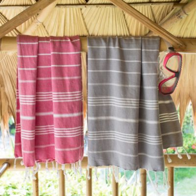 Set of 2 hamam towels XS