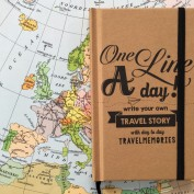 Travel journal One Line a Day