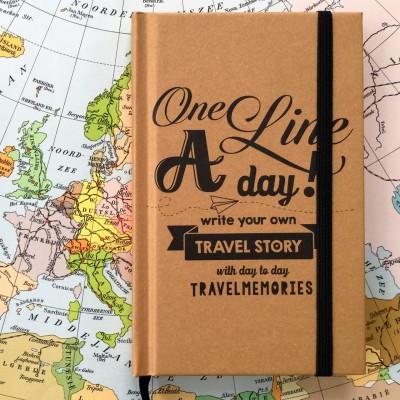 Travel journal 'One line a day'