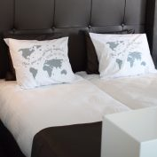pillow worldmap