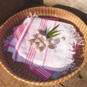 Hammadoek XS roze -wit