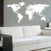 Wall-sticker-worldmap-with-pinpoints-white