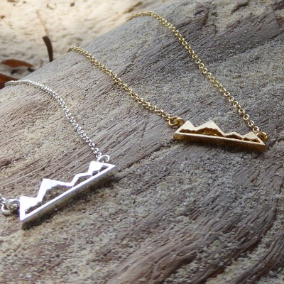 Necklace 'Mountains'