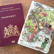 passport case world map