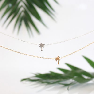 Necklace Palmtree