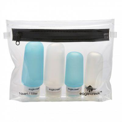 Transparent liquid bag