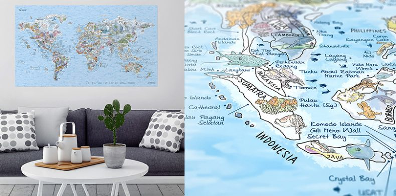 The most popular Christmas gifts for travelers under 30 – World Map Gifts For Travelers