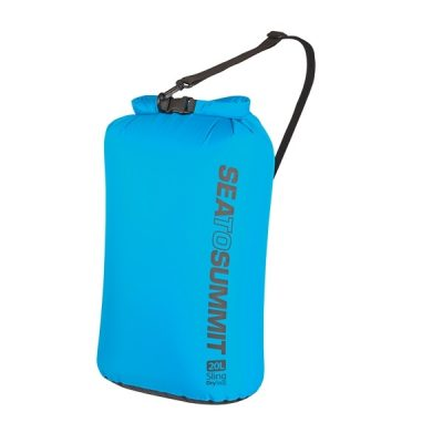Lightweight dry bag with carry strap