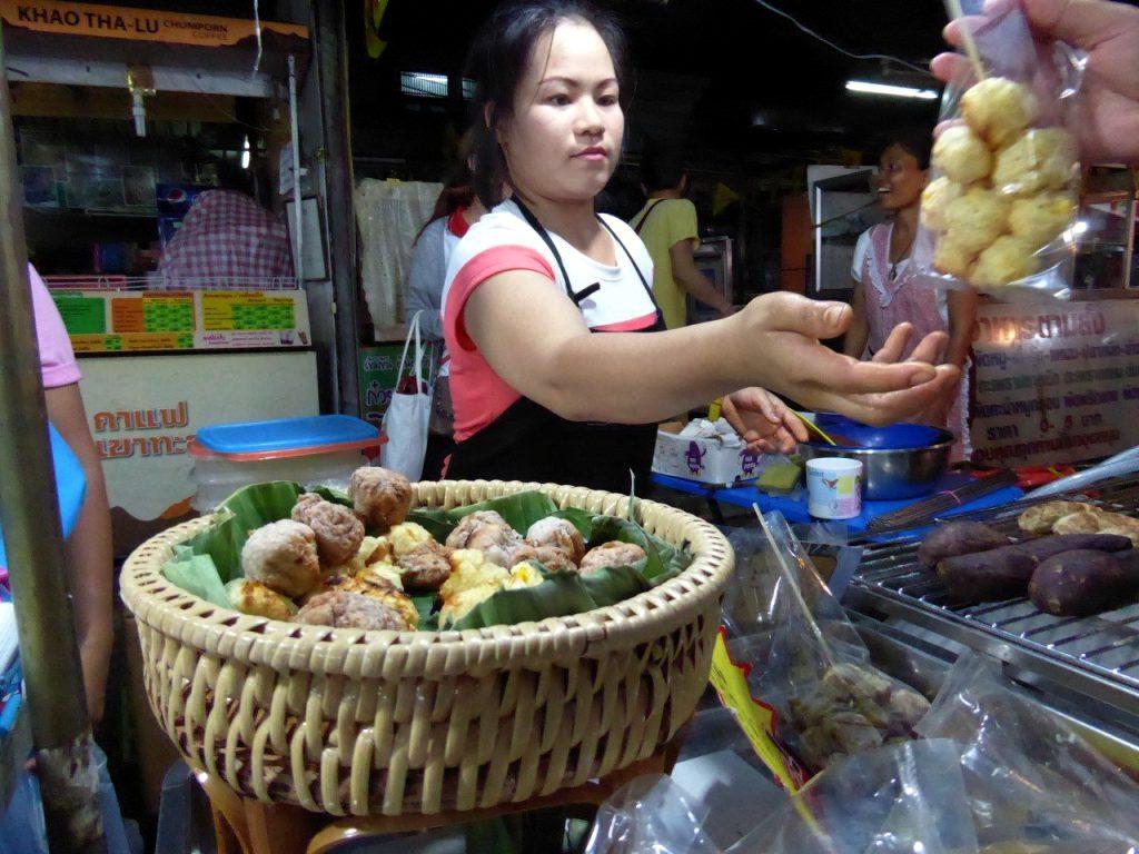 The markets of Bangkok