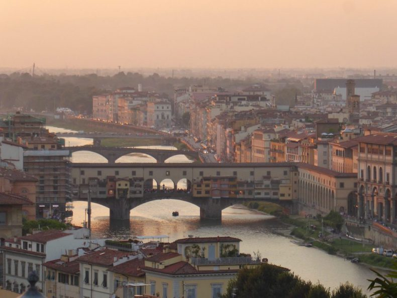 Italy-Florence-Sunset-View