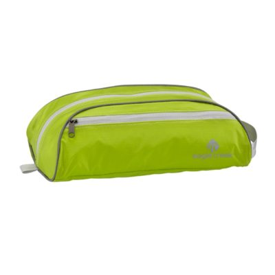 Compact, lightweight toiletry bag
