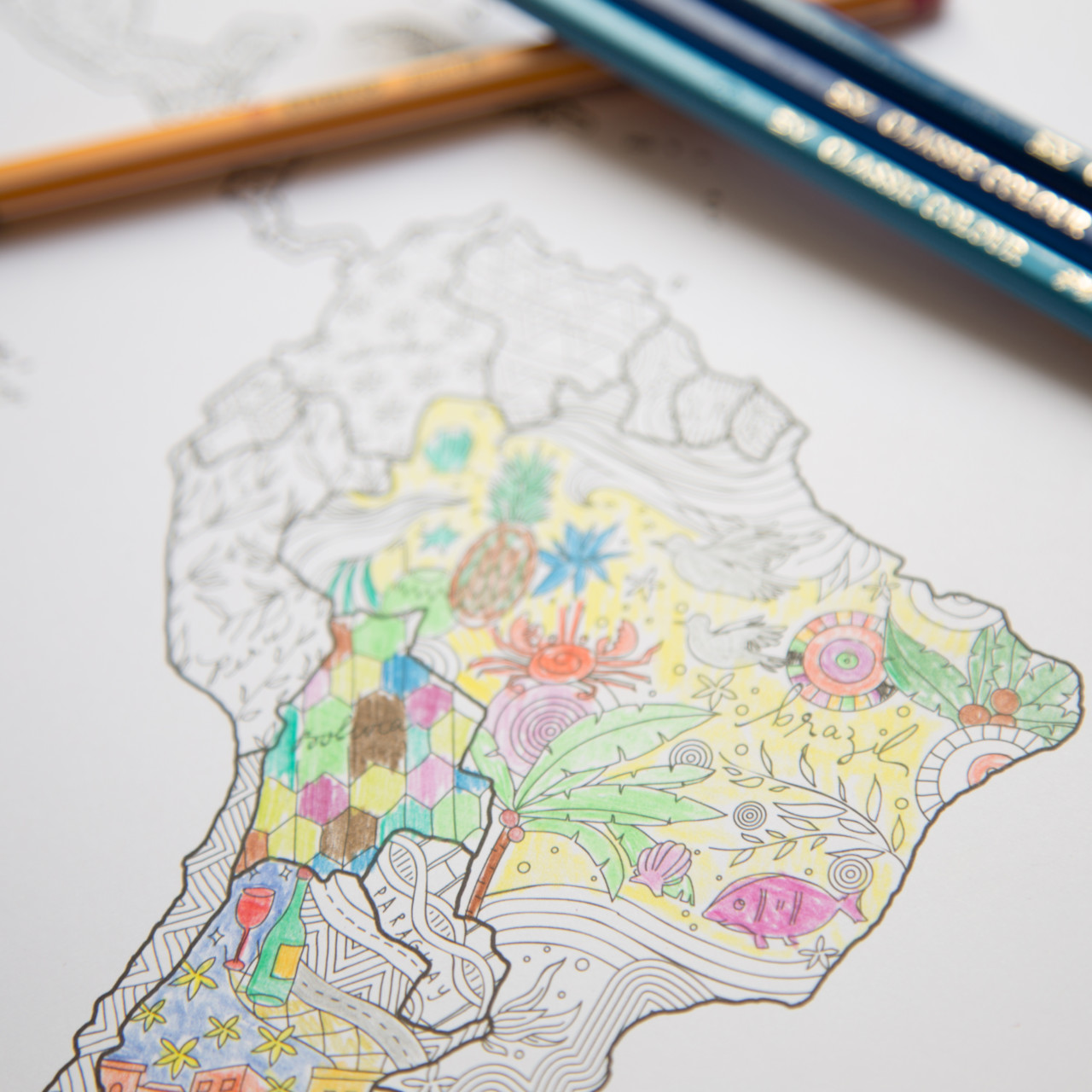 Looking for a coloring world map? | Colour in all countries you have ...