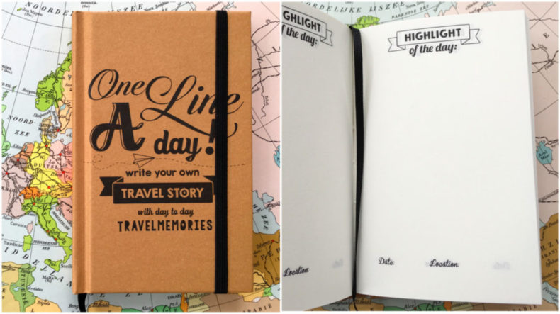 one-line-a-day-travel-journal