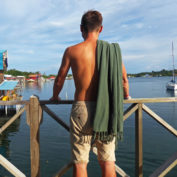 army-green-hamam-towel