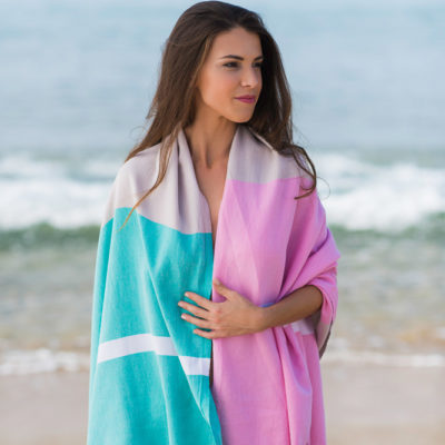 Hamam towel elegance – bio cotton