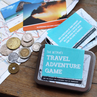 Ultimate travel adventure game