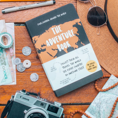 The adventure book – travelers notebook