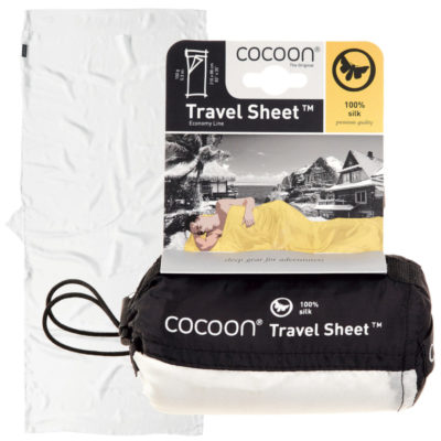 Cocoon travel sheet silk