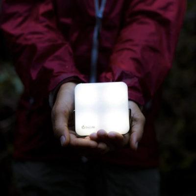 Biolite solar camping light