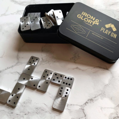 Mini domino set